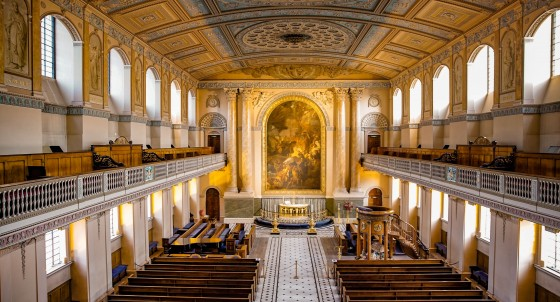 Old Royal Naval College Chapel Interior